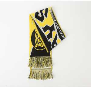 new products hot selling custom design good quality football fan scarf